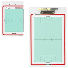 Champion Sports Soccer Dry Erase Clipboard