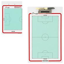 Champion Sports Soccer Dry Erase Clipboard