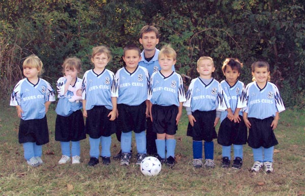 Blues Clues U5 Soccer Team